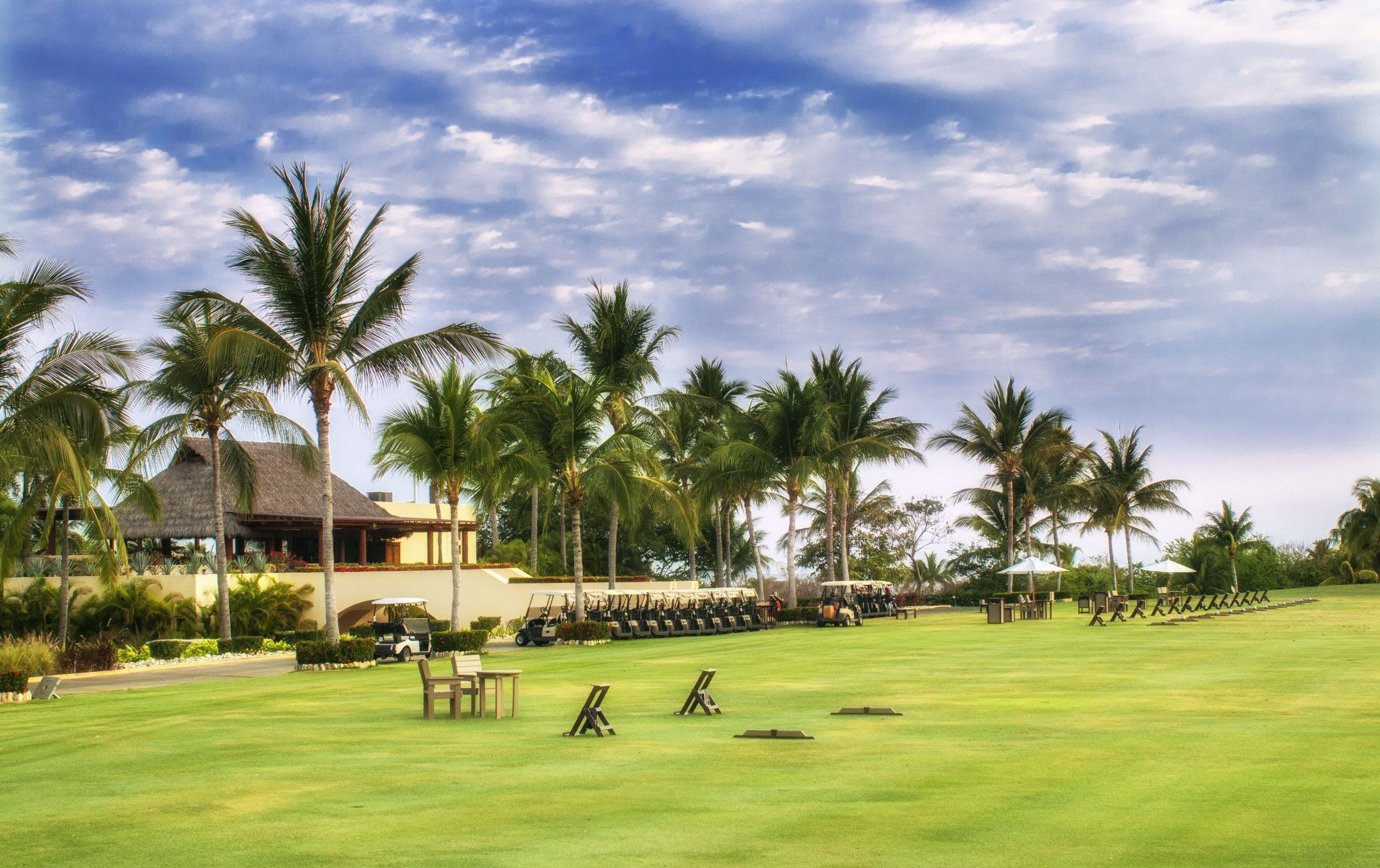 Punta Mita Four Seasons Driving Range